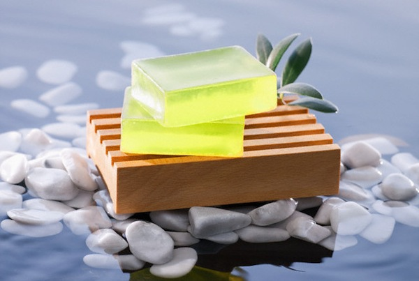 Bar soaps --- Image by © John Smith/Corbis